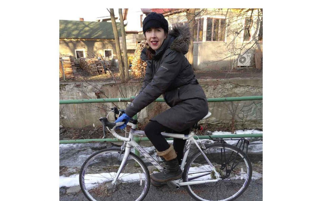 How a Sarah Beat Her Fear of Riding a Bike in the City